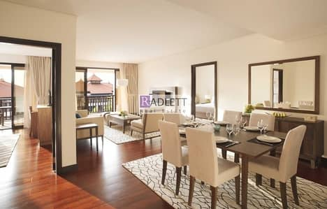 2 Bedroom Hotel Apartment for Rent in Palm Jumeirah, Dubai - Luxurious Two BR|Fully Furnished|All Inclusive