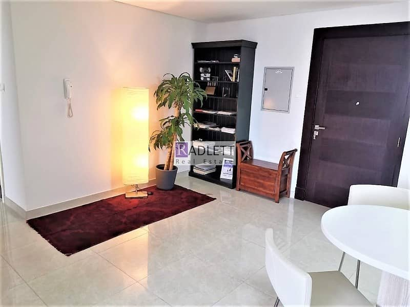 Pool View  Furnished 3 BR Corner Unit with Balcony