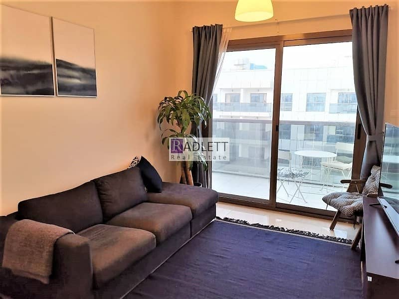 2 Pool View  Furnished 3 BR Corner Unit with Balcony