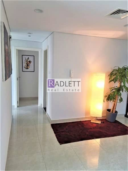 12 Pool View  Furnished 3 BR Corner Unit with Balcony