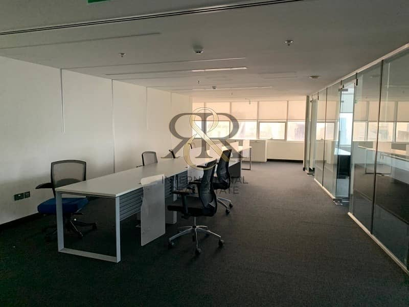 2 Full Floor|Fitted Space|Total  8 Offices
