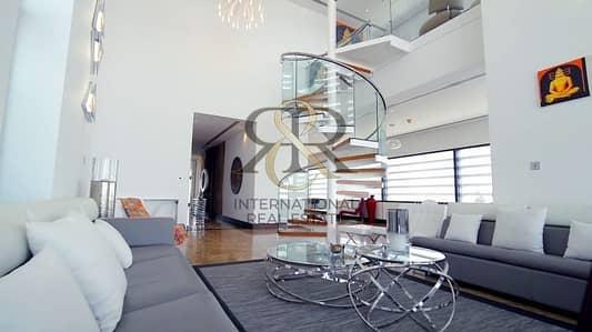 بنتهاوس 5 غرف نوم للبيع في مركز دبي المالي العالمي، دبي - Burj Khalifa View|Luxury Penthouse|Furnished 5 Bed