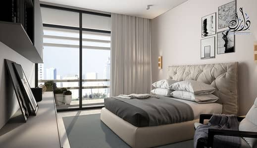 1 Bedroom Apartment for Sale in Aljada, Sharjah - Own smart house I Monthly Payment Plan I