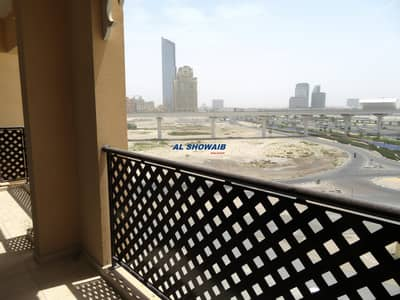 2 Bedroom Flat for Rent in Bur Dubai, Dubai - WONDERFUL I 2BHK I GYM I NEAR JADDAF METRO