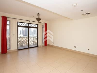 1 Bedroom Apartment for Rent in Old Town, Dubai - Unfurnished One bedroom Chiller Included
