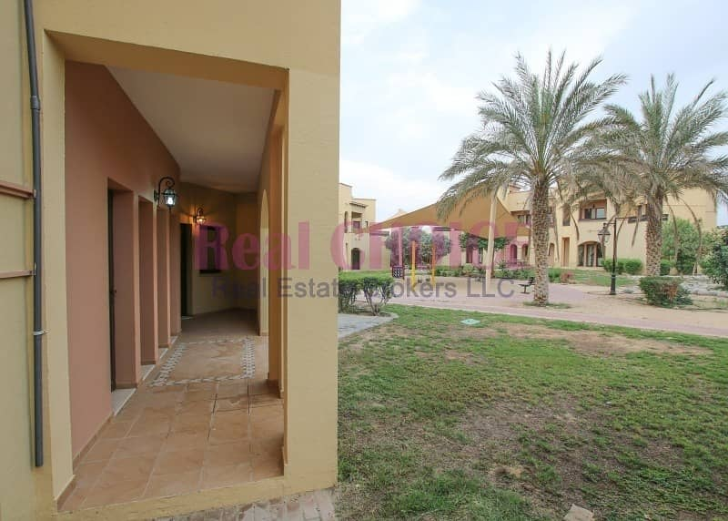 11 Ground Floor 2bedroom villa with 12 cheques payment