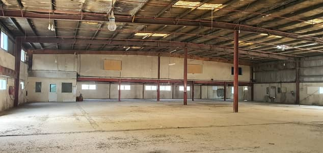 Warehouse for Rent in Industrial Area, Sharjah - 45000 sq ft warehouse with Open land TOLET in Industrial area 12, Sharjah