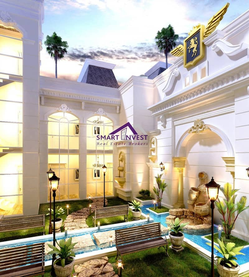 2  8%  Guaranteed Return for 5 yrs from Developer! AED 537