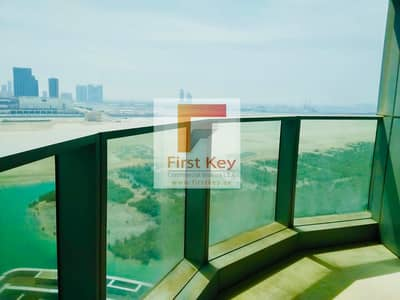 3 Bedroom Apartment for Rent in Al Reem Island, Abu Dhabi - Available Now High Floor 3Br+M With Stunning Views