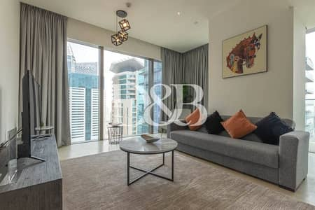 2 Bedroom Flat for Rent in Dubai Marina, Dubai - Fully Equipped   Spacious Unit   Amazing Views