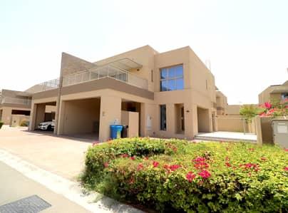 فیلا في فلل السدر واحة دبي للسيليكون 4 غرف 138000 درهم - 4353230