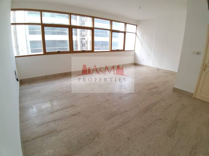 AMAZING OFFER.:3 Bedroom Apartment with maids room in khalidiyah for 70