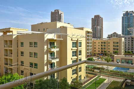 1 Bedroom Flat for Rent in The Greens, Dubai - One Bed | Unfurnished | Available Now