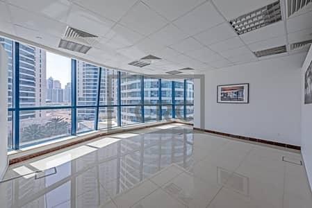 مکتب  للبيع في أبراج بحيرات الجميرا، دبي - Fitted X2 Office   Low Floor    For Rent