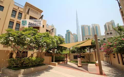 1 Bedroom Flat for Rent in Old Town, Dubai - Zanzabeel|Multiple Cheques |Burj & Mosque View