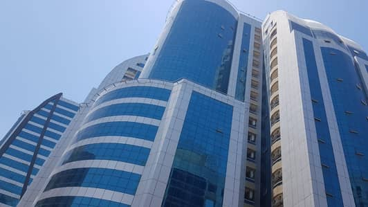 1 Bedroom Flat for Rent in Al Bustan, Ajman - Big Size 1 bedroom in Orient towers, Ajman