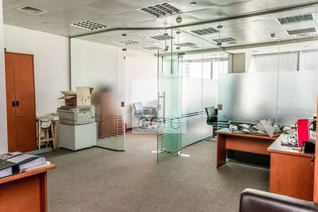 مکتب  للايجار في أبراج بحيرات الجميرا، دبي - Grade A   Fully Furnished   Low Floor