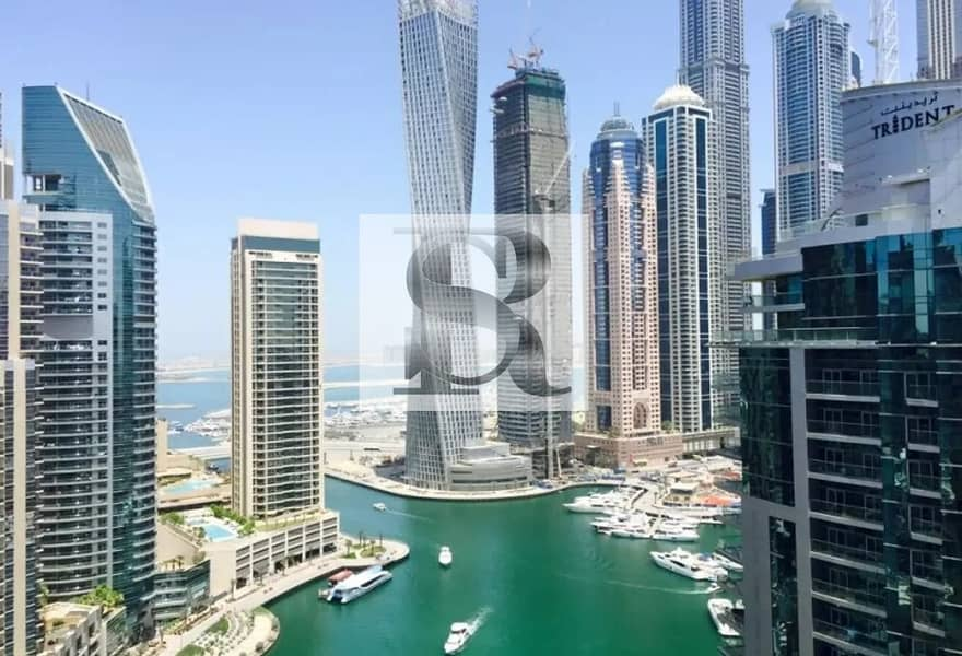Full Marina View  (02 type)  Spacious 2 BR + Maids