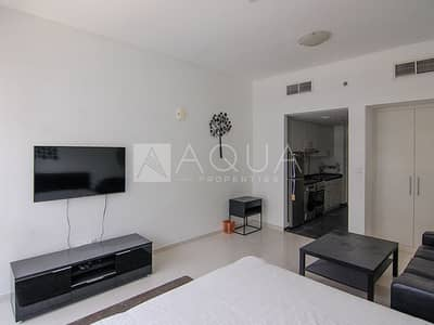Studio for Rent in DAMAC Hills (Akoya by DAMAC), Dubai - Fully Furnished Studio Unit | 6 Cheques