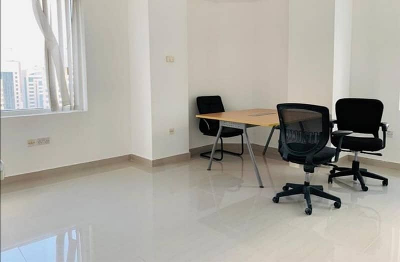 Virtual office Space For Rent In Hamdan Street