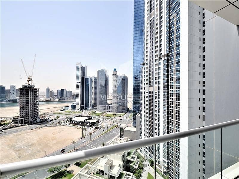 10 High Floor | 3BR+Maid+Laundry | Canal View