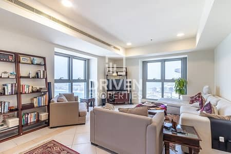 3 Bedroom Flat for Rent in Dubai Marina, Dubai - Well-maintained 3 Bed Unit with Sea View