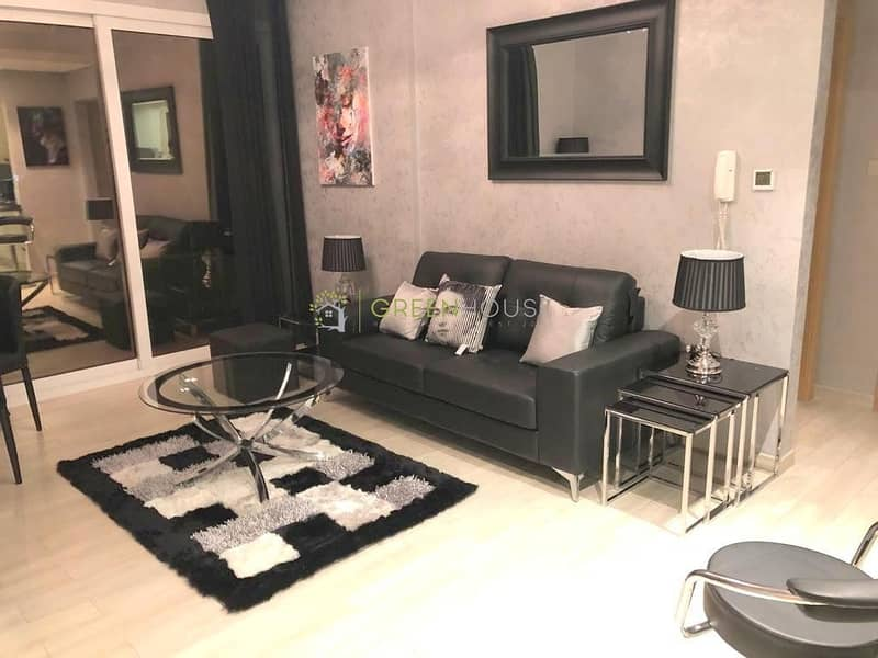 2 Pool View | High Quality Brand New Spacious 1 BHK Apartment