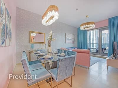 2 Bedroom Apartment for Rent in Dubai Marina, Dubai - Great Location|Brand New Building|Full Marina View