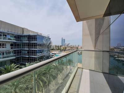 شقة 2 غرفة نوم للايجار في البطين، أبوظبي - Grand Luxury 2BR+M | Partial Marina View