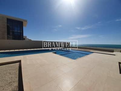 7 Bedroom Villa for Sale in Saadiyat Island, Abu Dhabi - Beautifully Designed 7 Bedroom With  Basement  Full Sea View!