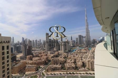 فلیٹ 3 غرف نوم للايجار في وسط مدينة دبي، دبي - Available also for 6 months   3 Beds Burj Khalifa View