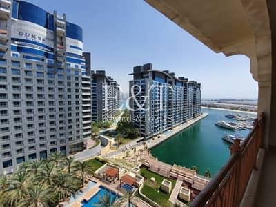 شقة 2 غرفة نوم للايجار في نخلة جميرا، دبي - High Floor   Partial Sea view   Appliances   PJ