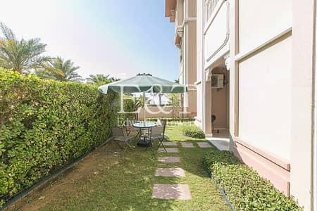 فلیٹ 2 غرفة نوم للبيع في نخلة جميرا، دبي - Private Garden I Furnished I Renovated I