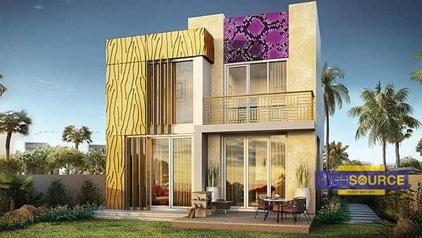 Brand New-3 Bed villa-Just Cavalli-On Payment Plan.