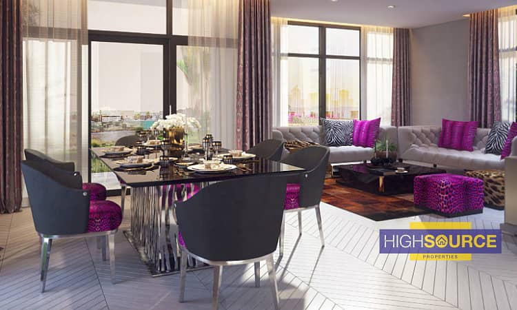 9 Brand New-3 Bed villa-Just Cavalli-On Payment Plan.