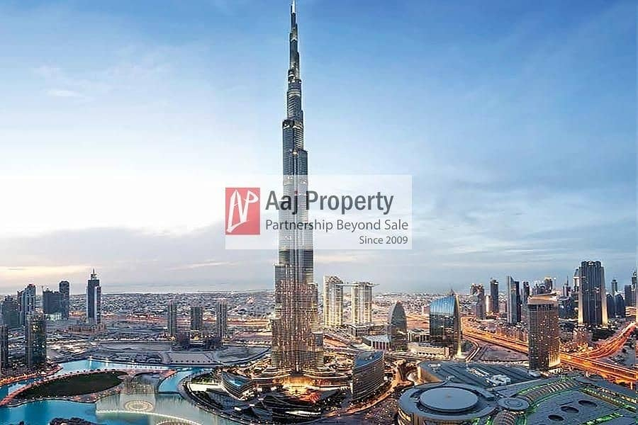 2 MOST LUXURIOUS UNIT | FULL BURJ & FOUNTAIN VIEW !!
