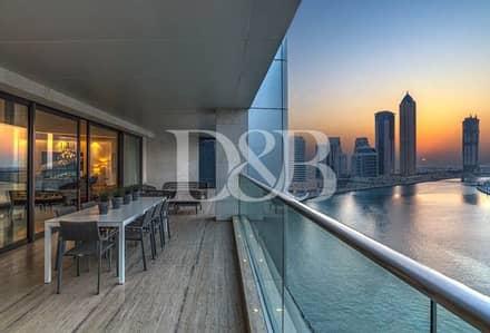 بنتهاوس 5 غرف نوم للبيع في الخليج التجاري، دبي - Sublime Full Floor With Burj Khalifa View