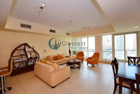 3 Bedroom Flat for Rent in Dubai Marina, Dubai - Amazing Furnished 3 B with Marina View