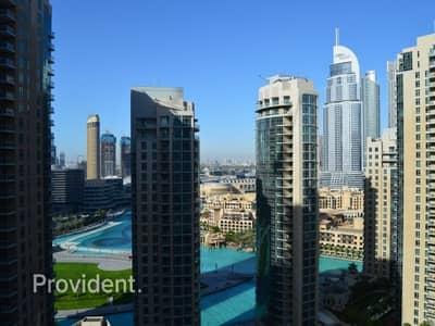 فلیٹ 2 غرفة نوم للايجار في الخليج التجاري، دبي - Corner Unit on High Floor