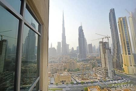 2 Bedroom Apartment for Sale in Downtown Dubai, Dubai - Vacant | Burj Khalifa View | Two Bedroom