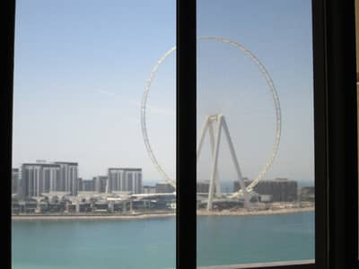 1 Bedroom Apartment for Rent in Jumeirah Beach Residence (JBR), Dubai - View from Living room