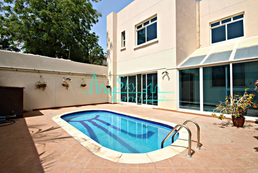 Very Bright 4 Bed Villa With Private Pool