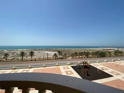 استوديو  للايجار في قرية الحمراء، رأس الخيمة - استديو مطل علي البحر مباشره