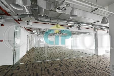 Office for Rent in Jumeirah Lake Towers (JLT), Dubai - Top Floor | Building at the Metro station | Amazing views