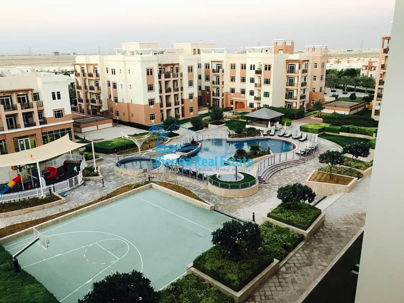 10 2 BR terrace Apartment for SALE  in Al Ghadeer!