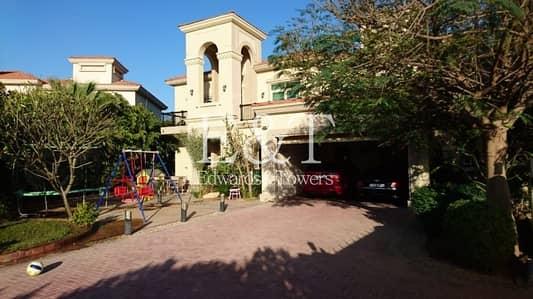 فیلا 4 غرف نوم للايجار في جزر جميرا، دبي - Highly Upgraded Venetian Villa| Quiet Location|JI