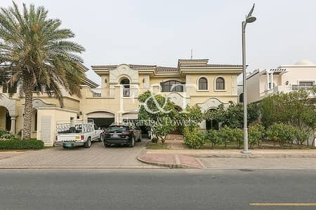 5 Bedroom Villa for Rent in Palm Jumeirah, Dubai - Private Pool