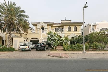 فیلا 5 غرف نوم للايجار في نخلة جميرا، دبي - Private Pool
