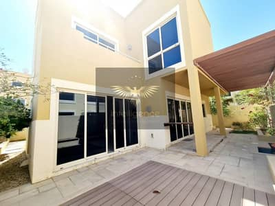 3 Bedroom Townhouse for Rent in Al Raha Gardens, Abu Dhabi - Well Maintained Townhouse w/ Maid`s and Study Room