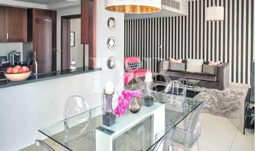 شقة 2 غرفة نوم للايجار في وسط مدينة دبي، دبي - Partial Fountain Views   Classy Furnished Unit